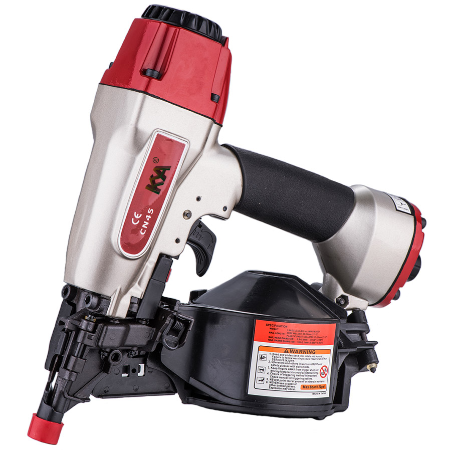CN45 Pneumatic Coil Siding Nailer
