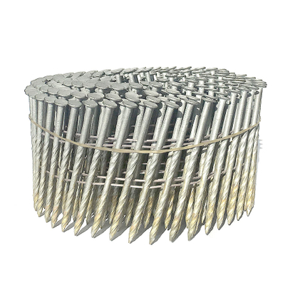 Hot Dipped Galvanized Coil Nails 15 Degree