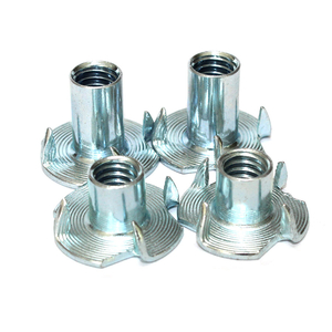 M5 X 8mm T Nut 4 Prong Tee Nuts