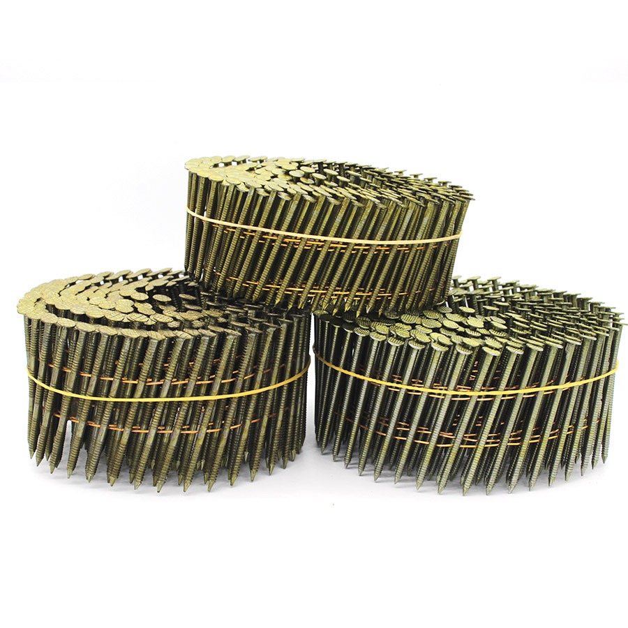 "15 Degree Coil Siding Nails 0.092"" x 2"""