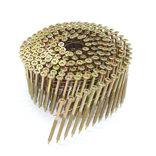 2-1/4 in. x .120 in. 15° Wire Coil Torx Head Nail Screw